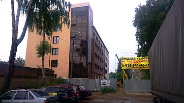 «Жилой дом с общежитием квартирного типа», по адресу: Тульская обл., г. Новомосковск, ул. Бережного, д. 1а