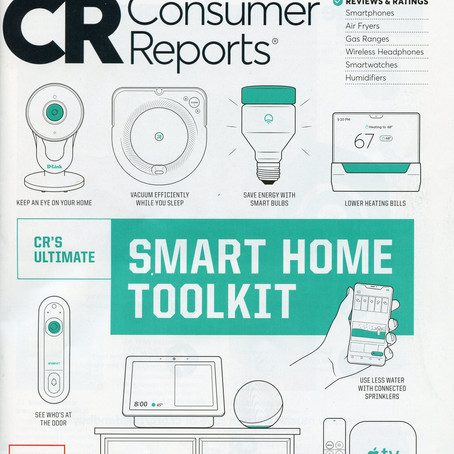Consumer Reports Smart Home Reviews: Google Nest products get top reviews.