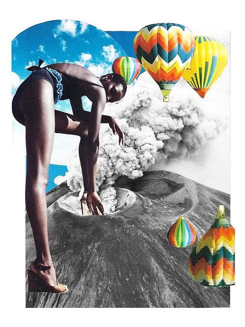 Hot Air Print