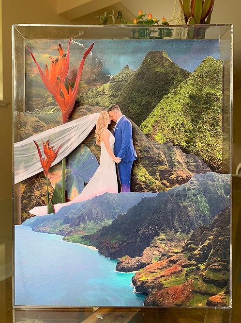 Custom Wedding Collage