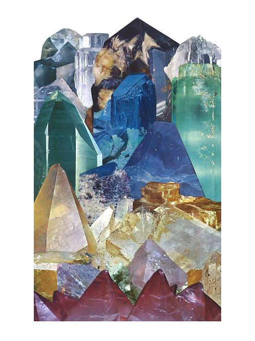 Rainbow Crystal Print