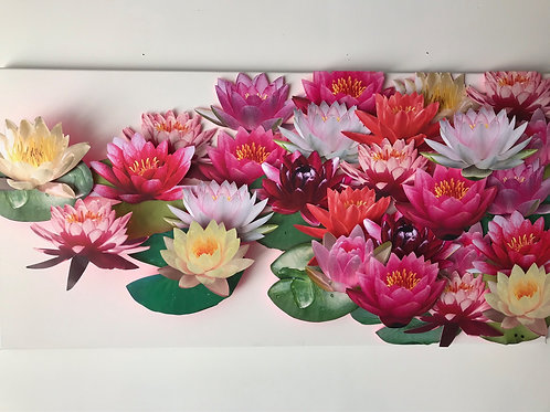 Monet inspired Waterlilies