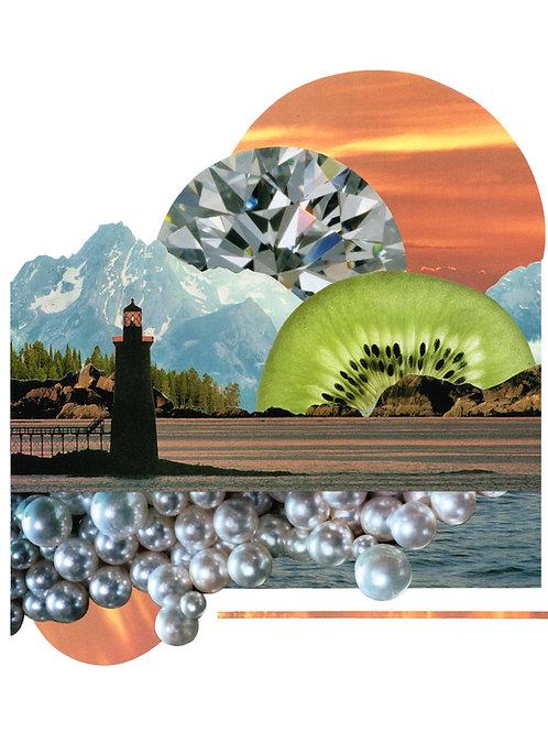 Kiwi Horizon Print
