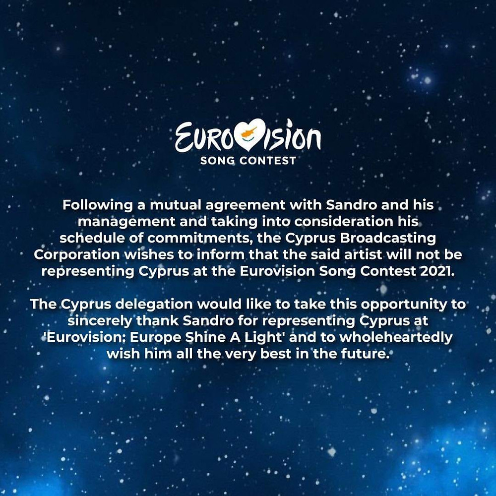 Official Statement from Cypriot Broadcaster: CYBC