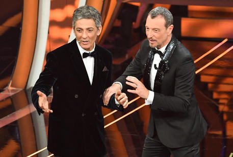 Hosts of Sanremo 2020 and soon to be 2021, Amadeus & Fiorello