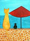 Cat, waiting for the fishermen - Kopie_b