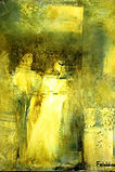 Gretchens Frage, Oil on canvas