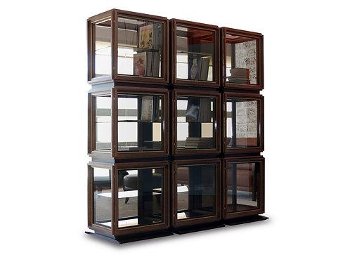 4216/15 Glass case 9 moduls