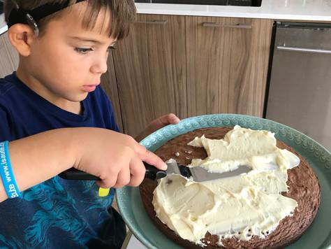 Gâteau aux amandes et chocolat noir pour le Temps des Fêtes