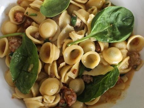 Tasty Italian Sausage Orecchiete