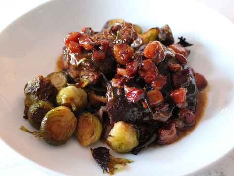 Red Wine Veal Cheeks