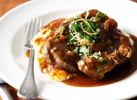 Traditional Italian Veal Osso Bucco