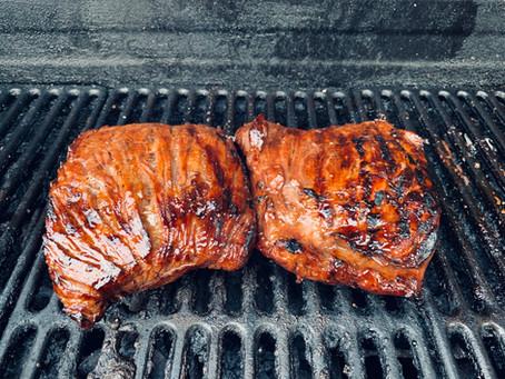 Bavette (flanc) de boeuf marinée ultra simple pour BBQ