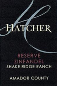 2016 Reserve Zinfandel