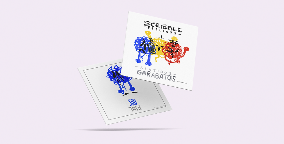 Scribble Feelings Cards + FREE PDF
