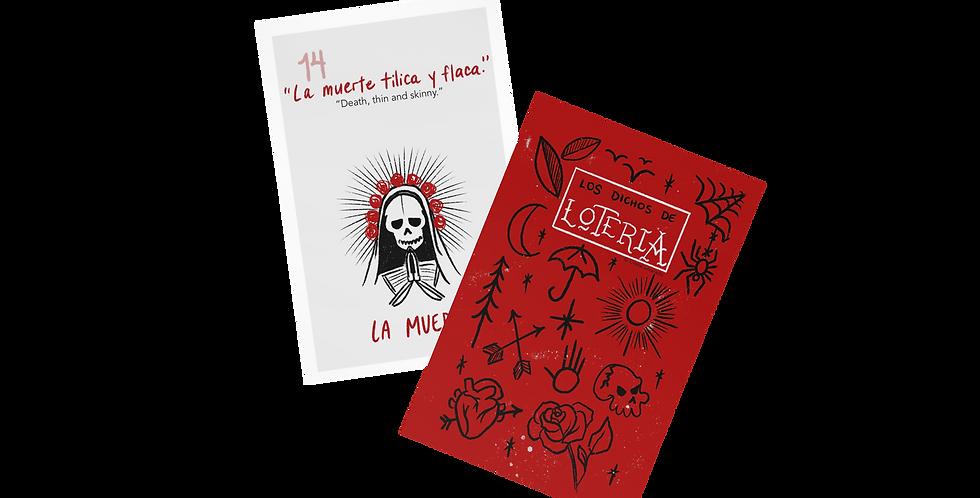 Lotería Cards with Bilingual Refranes + FREE PDF