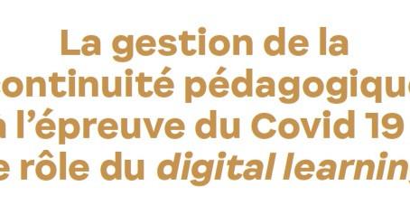 Le digital learning : une innovation pédagogique