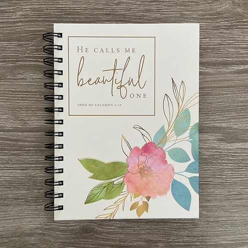 Beautiful One Notebook