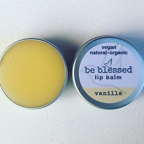 Vanilla Vegan & Organic Lip Balm