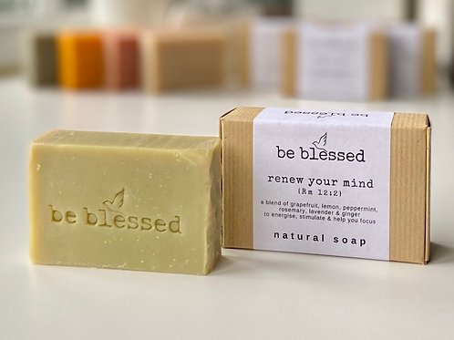 Renew Your Mind Natural Soap