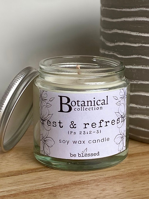 Rest & Refresh Luxury Candle