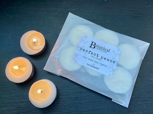 Perfect Peace Luxury Tea Lights