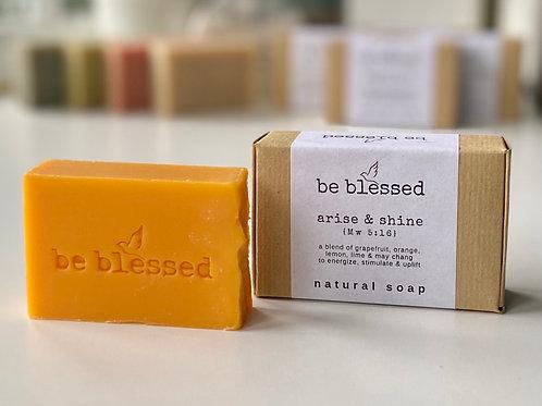 Arise & Shine Natural Soap