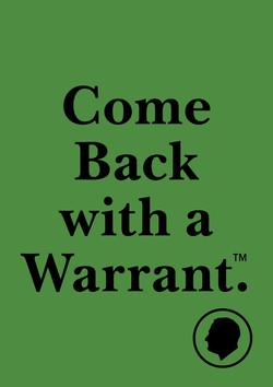 Velcro Label-Warrant