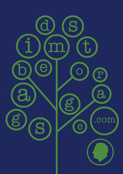 Velcro Label-Dime Tree