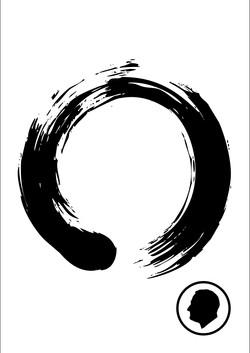 Velcro Label-Zen Circle
