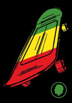Velcro Label-Skateboard