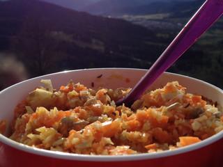 wintery coleslaw masala