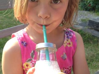 pink raspberry shake