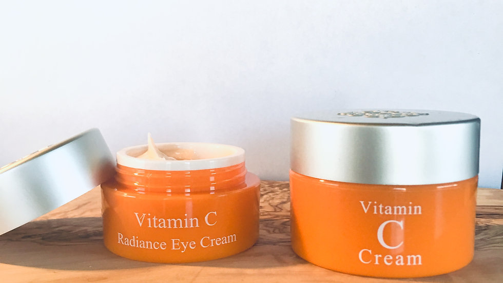 Lansley Vitamin-C Cream Set (Skin and Eyes)
