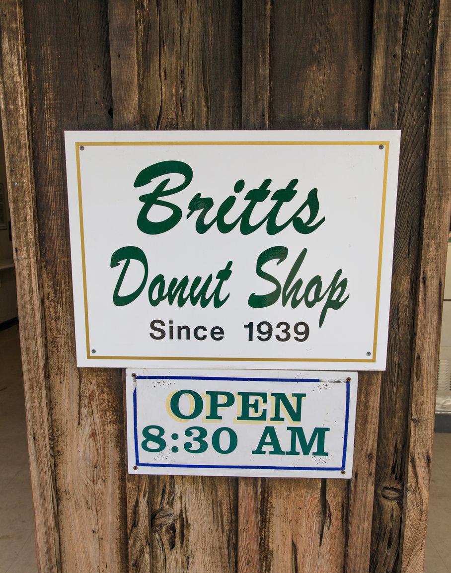 britts donuts, carolina beach,Britts doughnuts,nc