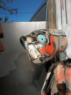 Art Magna® Jigé Recycling Sculpture E.T.