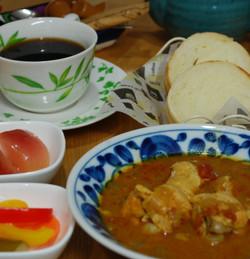 スープチキンカレー