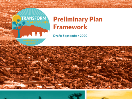 Preliminary Plan Framework Available for Review