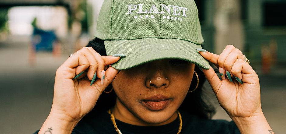 P.O.P. Money Green Hemp Hat