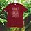 Thumbnail: Unisex P.O.P. font RED tee