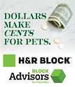 H&R Block Donation Drive Web Button Artw