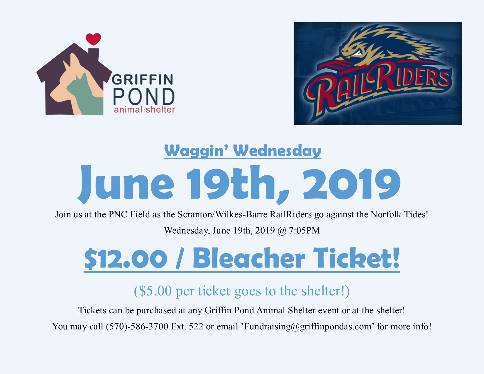 Waggin' Wednesday at PNC Field