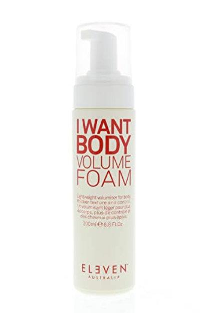 I want body volume foam