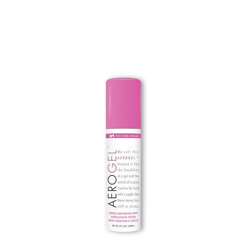 Aerogel hairspray