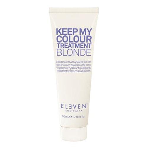 Keep my colour treatment blonde