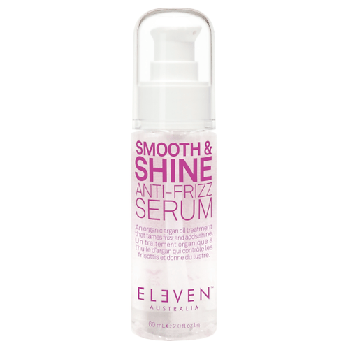 Smooth and shine anti frizz serum