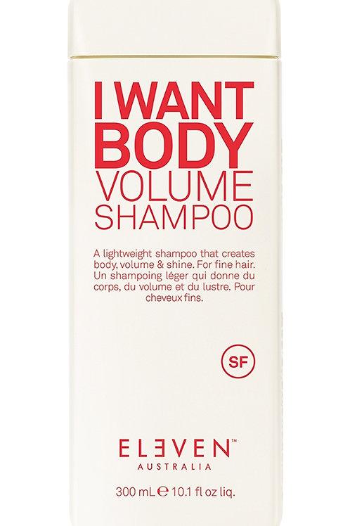 I want body volume shampoo