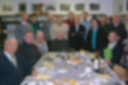 Groepsfoto leden heemkring 'De Klonkviool'