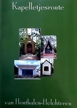 Boekomslag Kapelletjesroute van Houthalen-Helchteren
