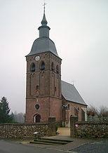 Het oude kerkje van Laak